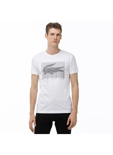 Lacoste Tişört Beyaz